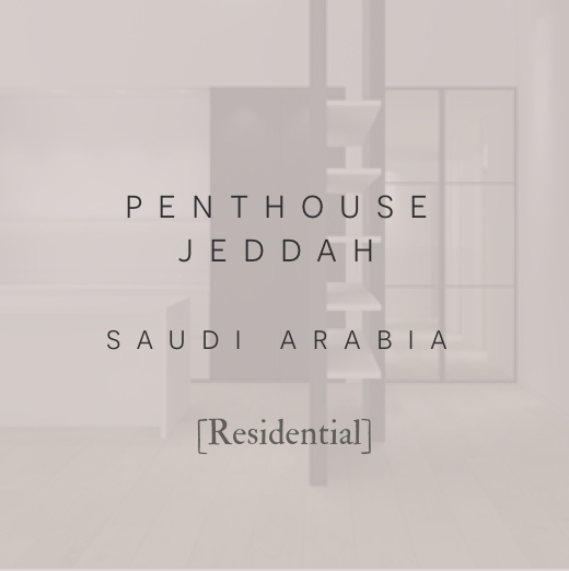 Robert London Design | Interior Design | Architectural Design | Penthouse Jeddah