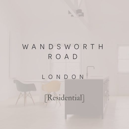 Robert London Design | Interior Design | Architectural Design | Wandsworth Road